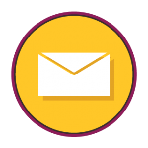 An email icon for getting in touch with Phoenix Athletica in Pocono Summit, PA