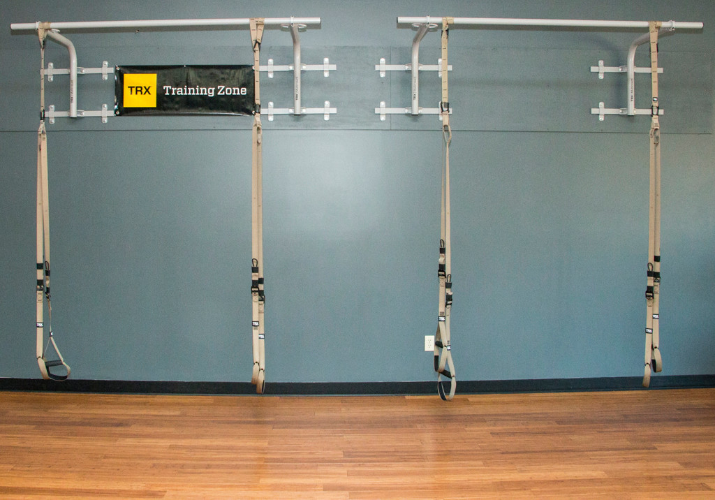 A personal training room at Phoenix Athletica in Pocono Summit, PA